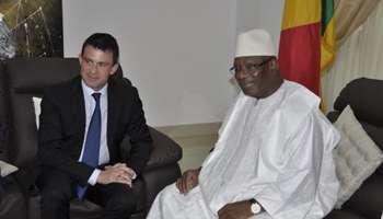 Valls et IBK